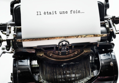 Machine à écrire d'un écrivain biographe à Mulhouse.